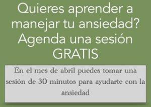 Agenda tu sesión gratis