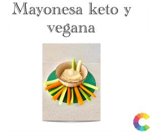 Mayonesa Keto y Vegana